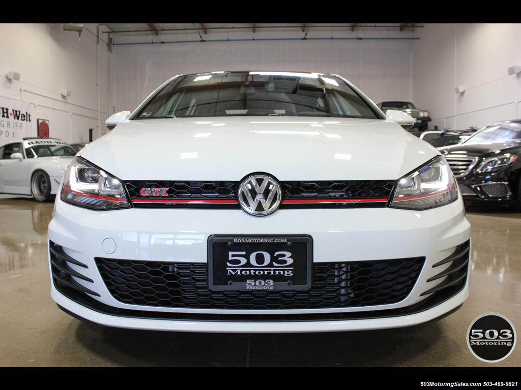 2017 Volkswagen Golf GTI SE; White/Black w/ Only 2k Miles! - Photo 8 - Beaverton, OR 97005