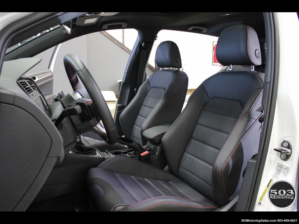 2017 Volkswagen Golf GTI SE; White/Black w/ Only 2k Miles! - Photo 29 - Beaverton, OR 97005