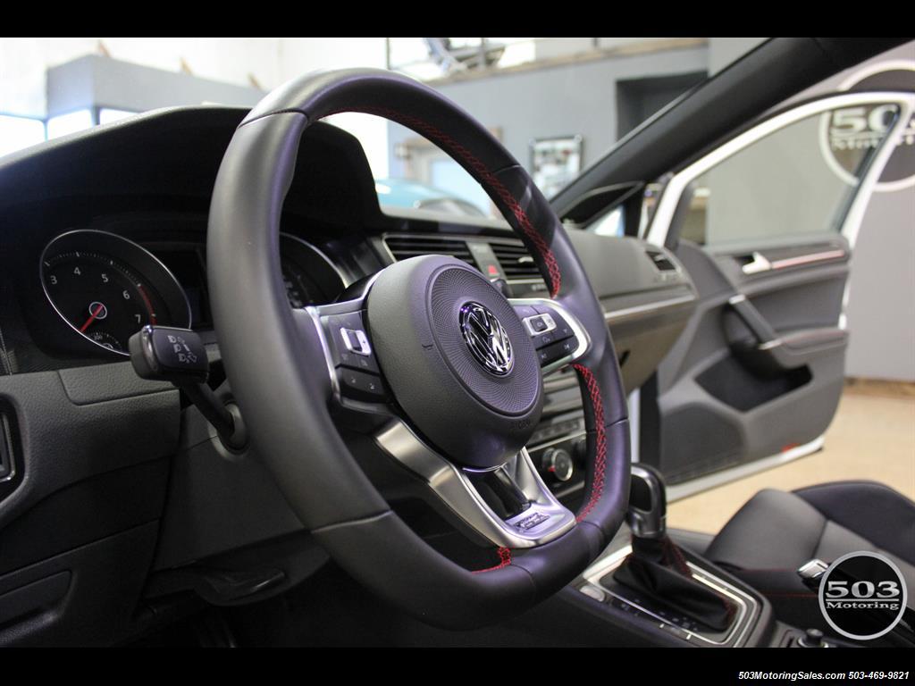 2017 Volkswagen Golf GTI SE; White/Black w/ Only 2k Miles! - Photo 26 - Beaverton, OR 97005