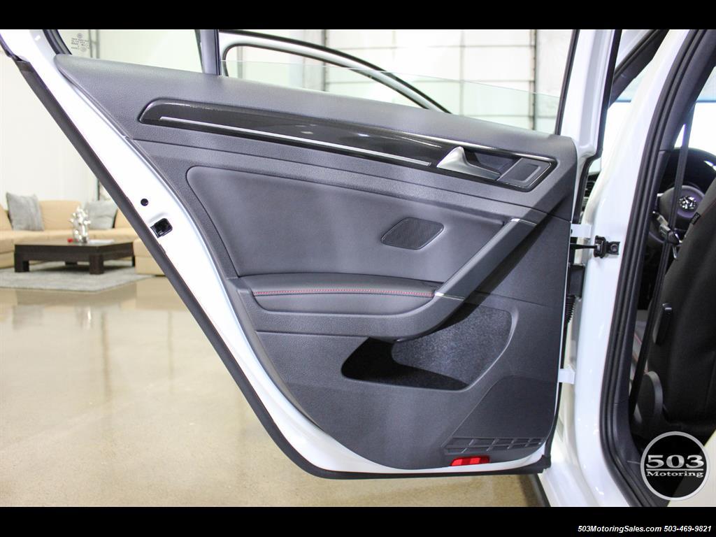 2017 Volkswagen Golf GTI SE; White/Black w/ Only 2k Miles! - Photo 43 - Beaverton, OR 97005
