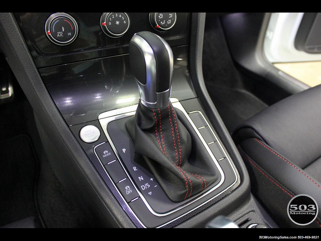 2017 Volkswagen Golf GTI SE; White/Black w/ Only 2k Miles! - Photo 32 - Beaverton, OR 97005