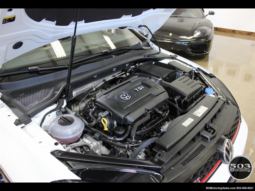 2017 Volkswagen Golf GTI SE; White/Black w/ Only 2k Miles! - Photo 50 - Beaverton, OR 97005