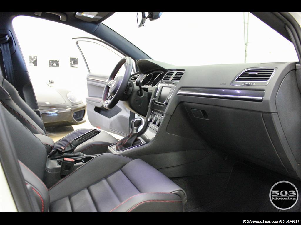 2017 Volkswagen Golf GTI SE; White/Black w/ Only 2k Miles! - Photo 36 - Beaverton, OR 97005