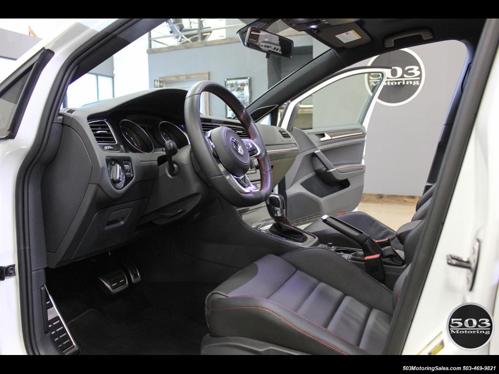 2017 Volkswagen Golf GTI SE; White/Black w/ Only 2k Miles! - Photo 25 - Beaverton, OR 97005
