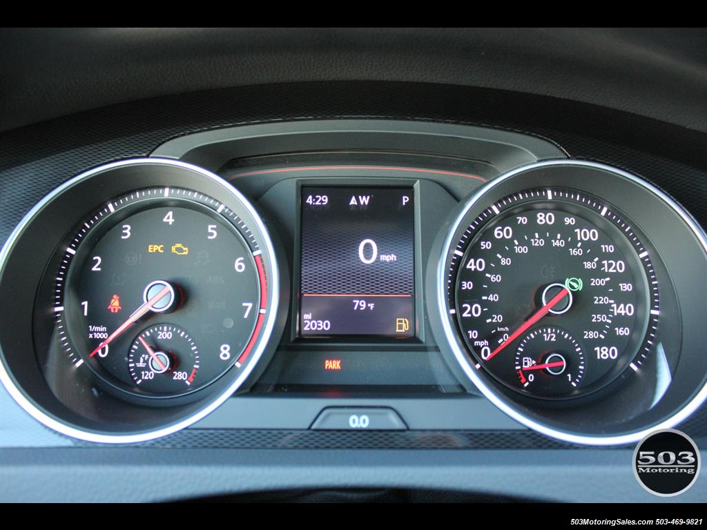 2017 Volkswagen Golf GTI SE; White/Black w/ Only 2k Miles! - Photo 27 - Beaverton, OR 97005