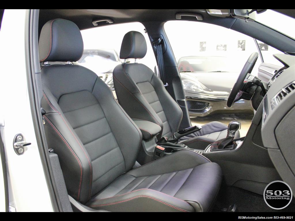 2017 Volkswagen Golf GTI SE; White/Black w/ Only 2k Miles! - Photo 38 - Beaverton, OR 97005