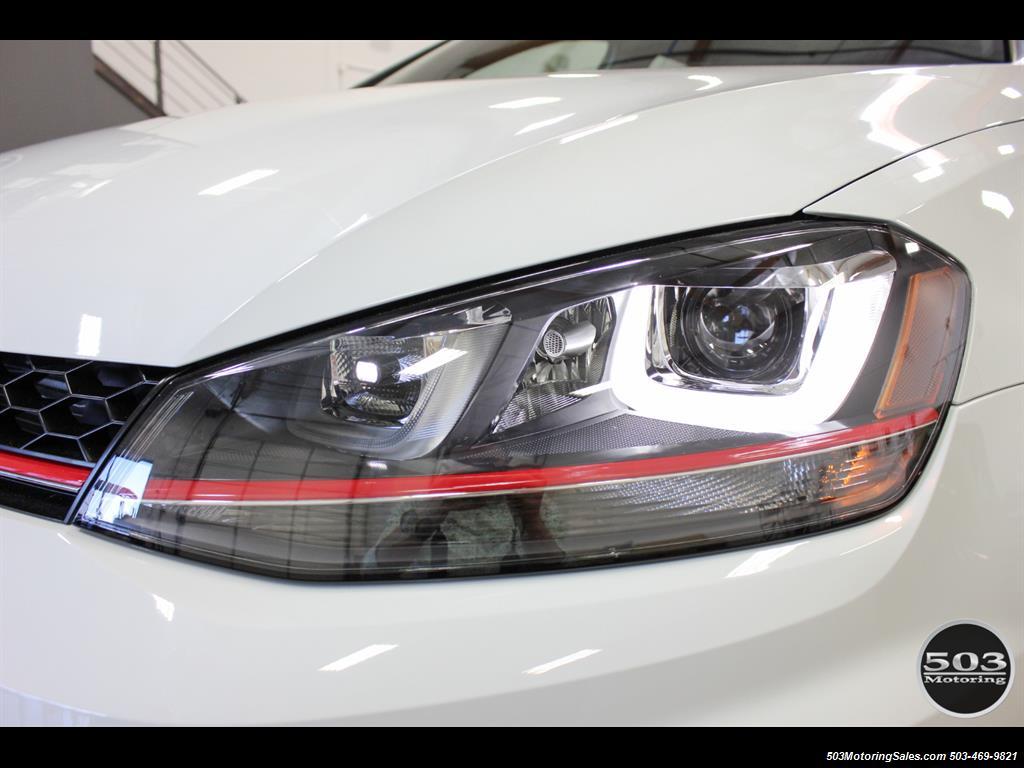 2017 Volkswagen Golf GTI SE; White/Black w/ Only 2k Miles! - Photo 10 - Beaverton, OR 97005