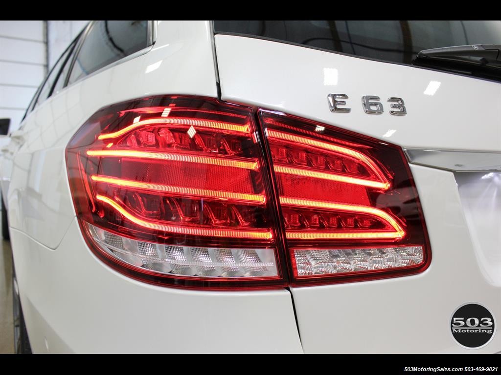 2014 Mercedes-Benz E 63 AMG S-Model Wagon; White/Black w/ 19k Miles! - Photo 17 - Beaverton, OR 97005
