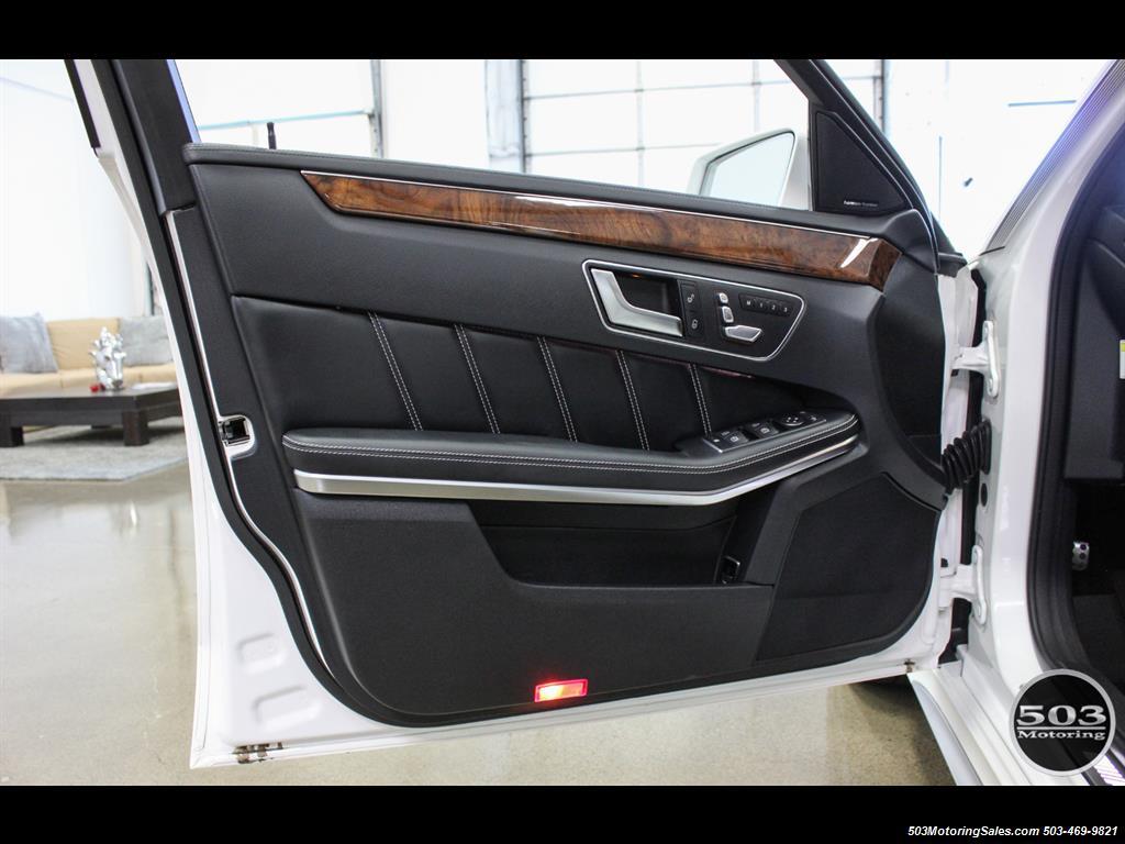 2014 Mercedes-Benz E 63 AMG S-Model Wagon; White/Black w/ 19k Miles! - Photo 36 - Beaverton, OR 97005