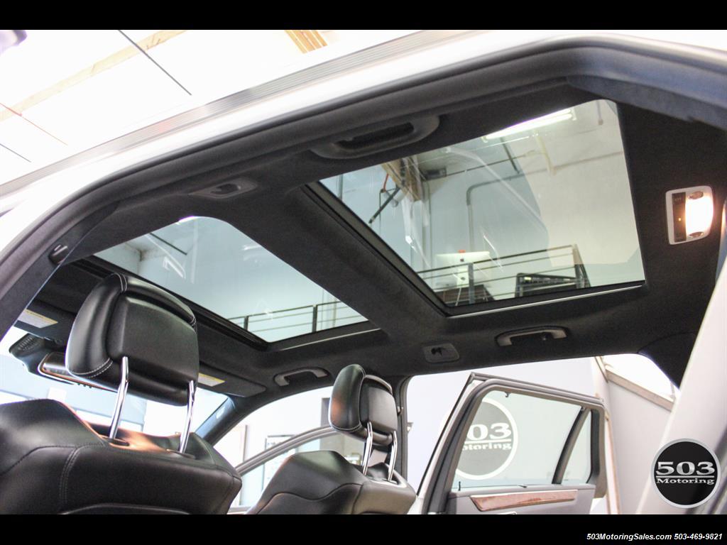 2014 Mercedes-Benz E 63 AMG S-Model Wagon; White/Black w/ 19k Miles! - Photo 44 - Beaverton, OR 97005