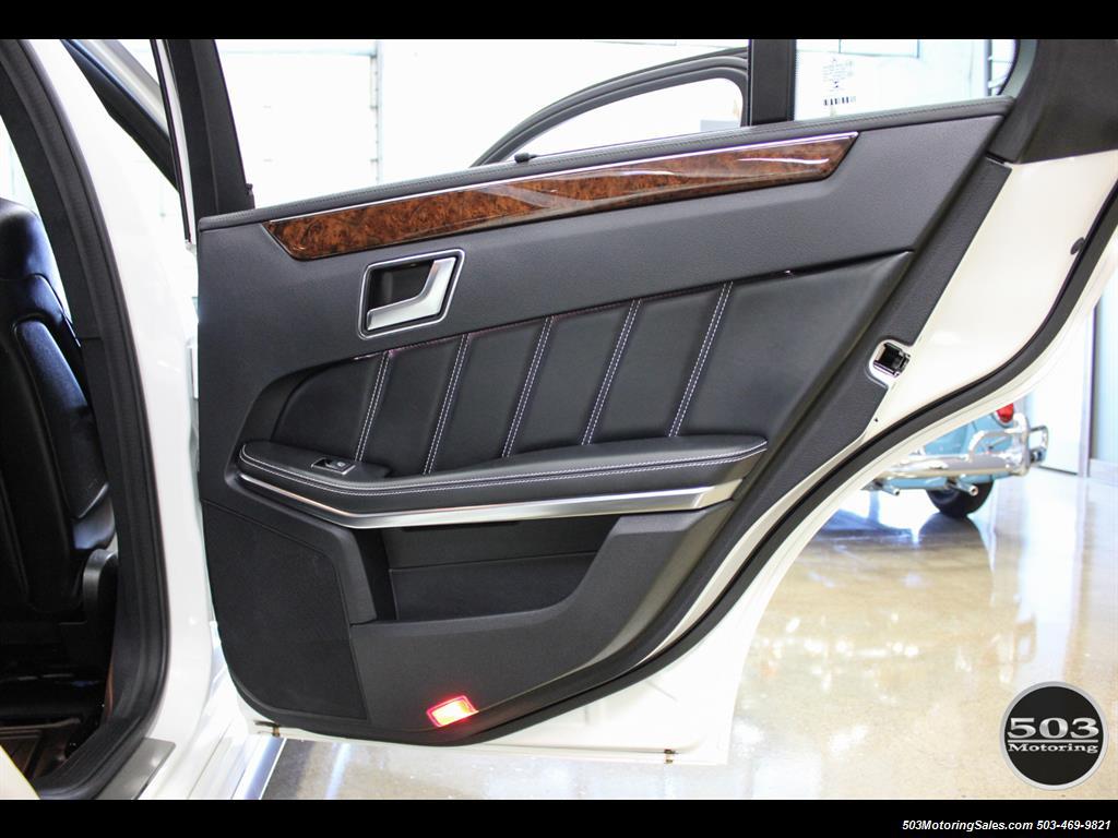 2014 Mercedes-Benz E 63 AMG S-Model Wagon; White/Black w/ 19k Miles! - Photo 48 - Beaverton, OR 97005