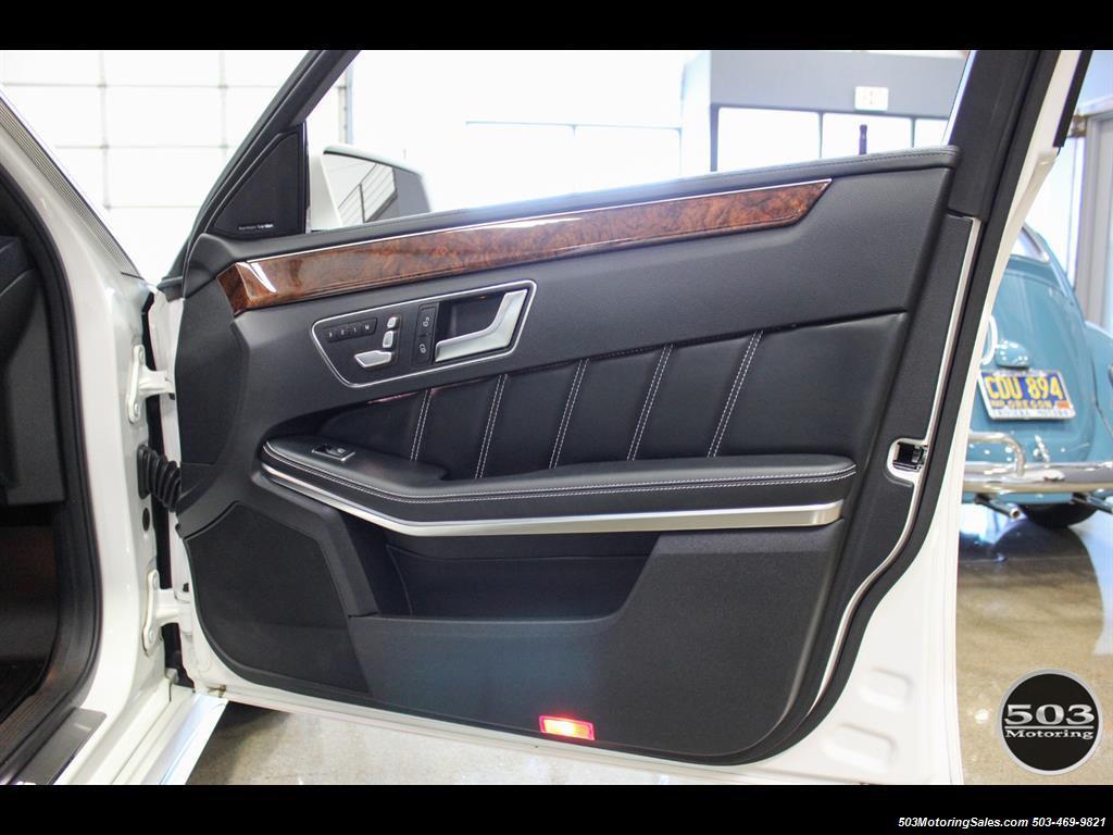 2014 Mercedes-Benz E 63 AMG S-Model Wagon; White/Black w/ 19k Miles! - Photo 41 - Beaverton, OR 97005