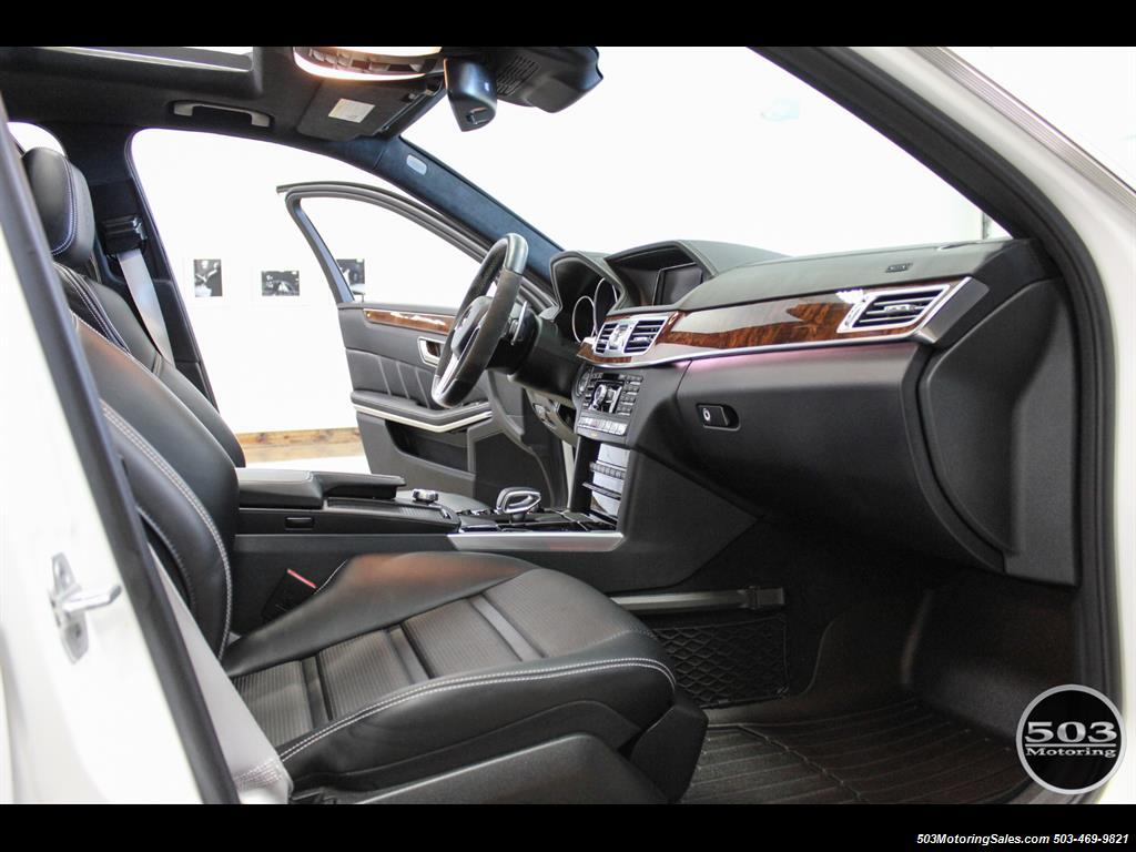 2014 Mercedes-Benz E 63 AMG S-Model Wagon; White/Black w/ 19k Miles! - Photo 37 - Beaverton, OR 97005