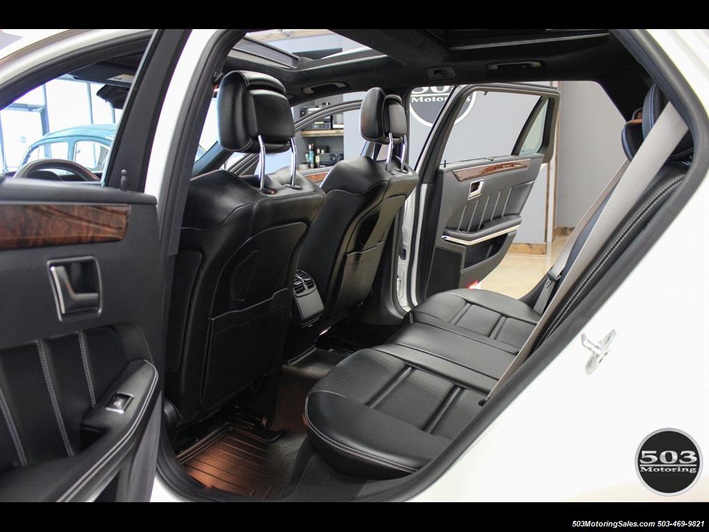 2014 Mercedes-Benz E 63 AMG S-Model Wagon; White/Black w/ 19k Miles! - Photo 42 - Beaverton, OR 97005