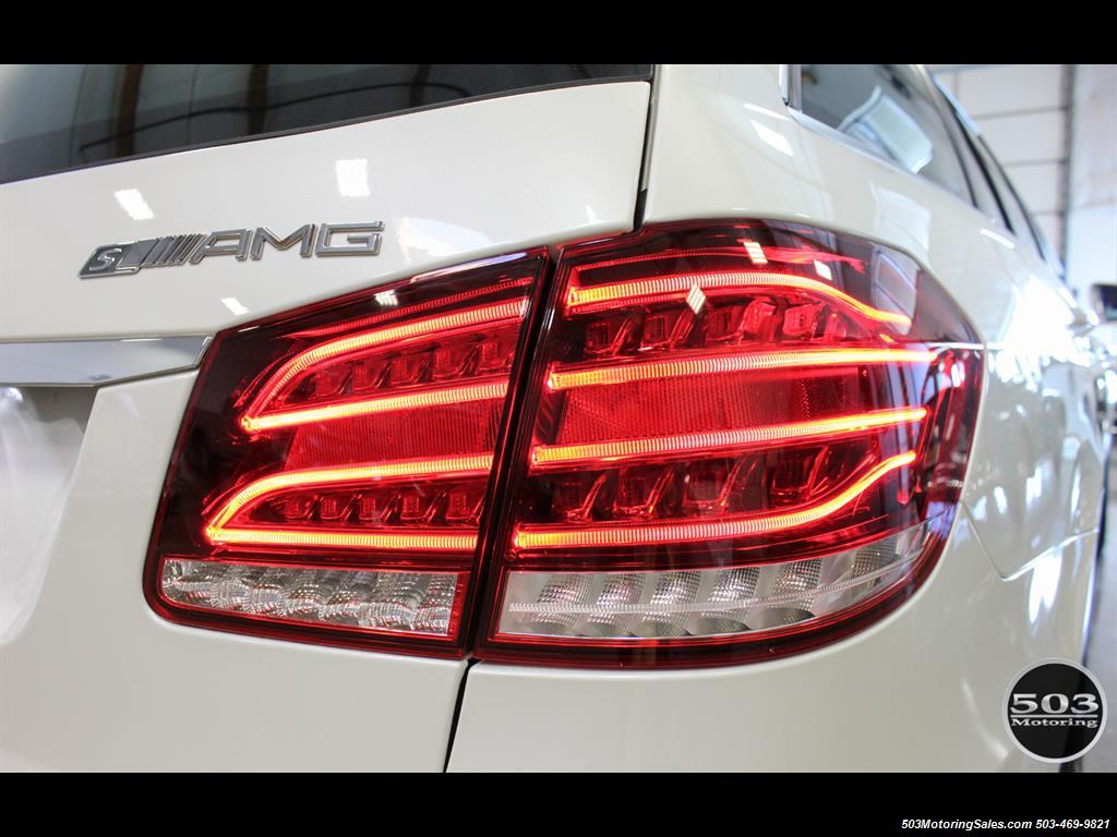 2014 Mercedes-Benz E 63 AMG S-Model Wagon; White/Black w/ 19k Miles! - Photo 18 - Beaverton, OR 97005