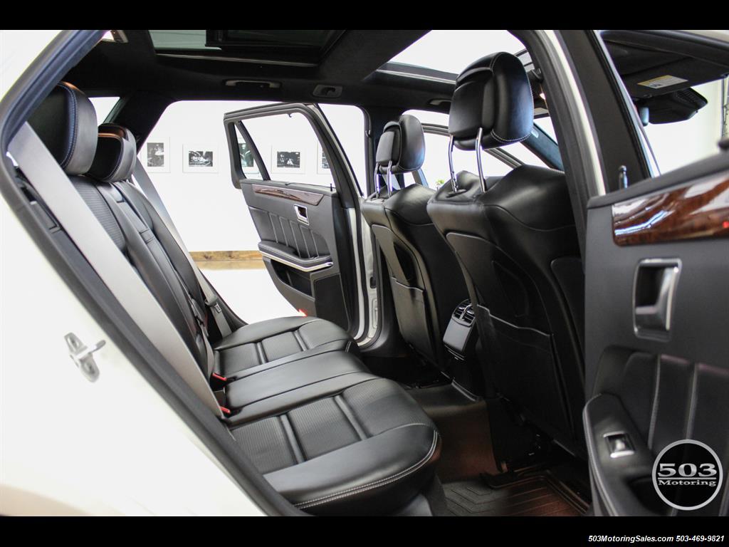 2014 Mercedes-Benz E 63 AMG S-Model Wagon; White/Black w/ 19k Miles! - Photo 46 - Beaverton, OR 97005