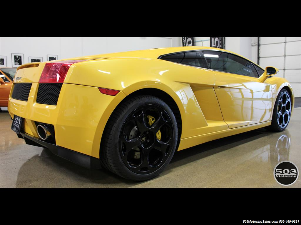 2004 Lamborghini Gallardo Yellow/Black 6-Speed Manual w/ 21k Miles! - Photo 6 - Beaverton, OR 97005