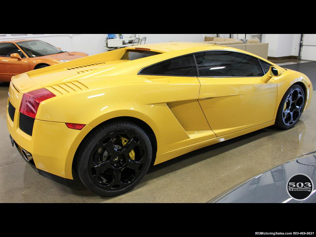 2004 Lamborghini Gallardo Yellow/Black 6-Speed Manual w/ 21k Miles! - Photo 7 - Beaverton, OR 97005