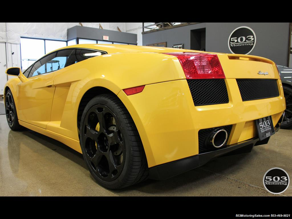 2004 Lamborghini Gallardo Yellow/Black 6-Speed Manual w/ 21k Miles! - Photo 3 - Beaverton, OR 97005