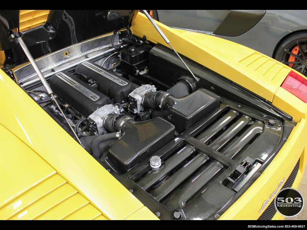 2004 Lamborghini Gallardo Yellow/Black 6-Speed Manual w/ 21k Miles! - Photo 45 - Beaverton, OR 97005