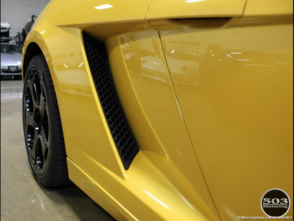 2004 Lamborghini Gallardo Yellow/Black 6-Speed Manual w/ 21k Miles! - Photo 15 - Beaverton, OR 97005