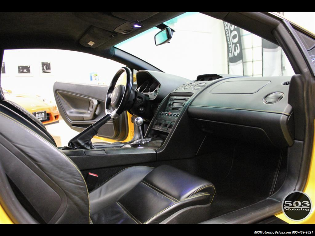 2004 Lamborghini Gallardo Yellow/Black 6-Speed Manual w/ 21k Miles! - Photo 37 - Beaverton, OR 97005