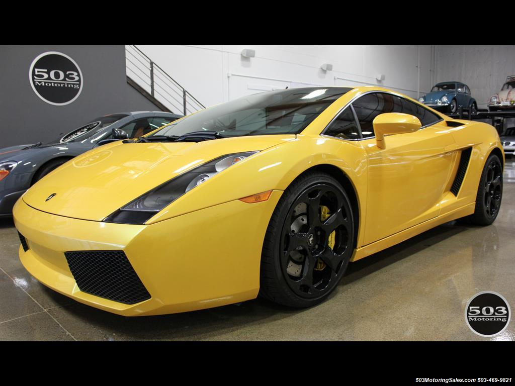 2004 Lamborghini Gallardo Yellow/Black 6-Speed Manual w/ 21k Miles! - Photo 1 - Beaverton, OR 97005