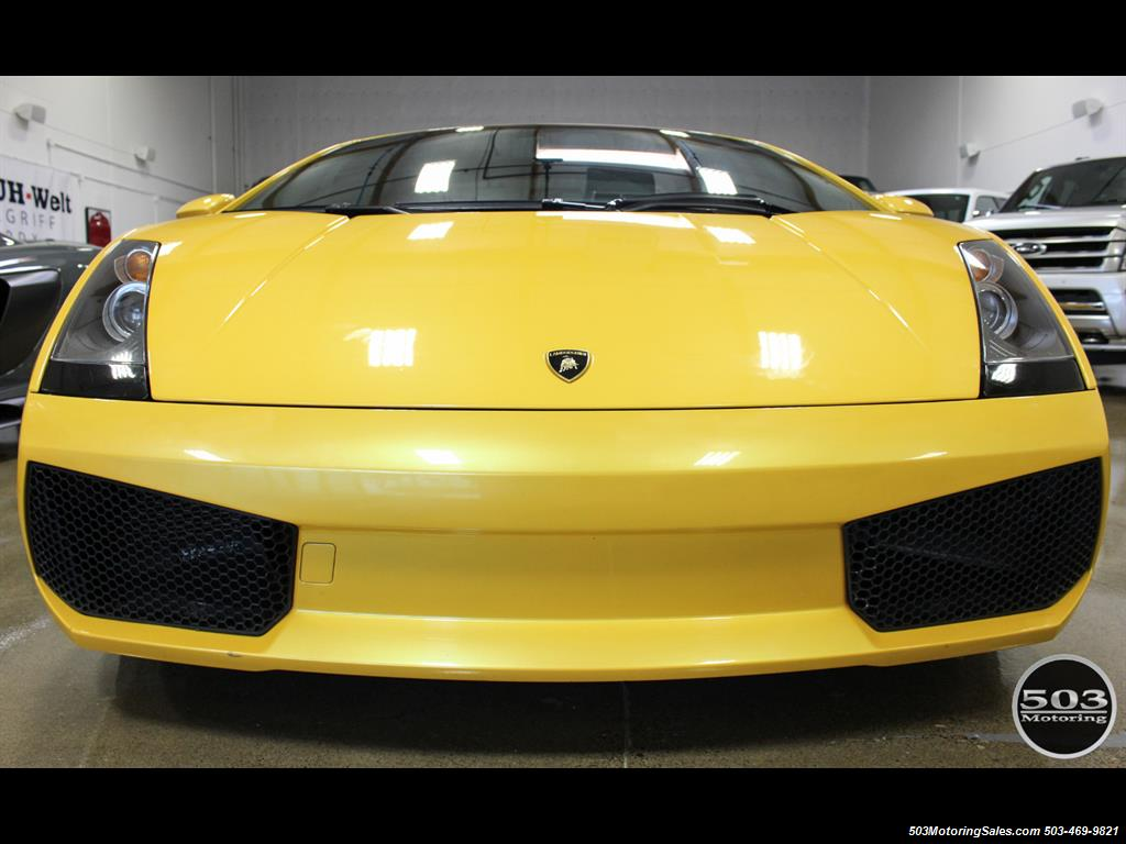2004 Lamborghini Gallardo Yellow/Black 6-Speed Manual w/ 21k Miles! - Photo 9 - Beaverton, OR 97005