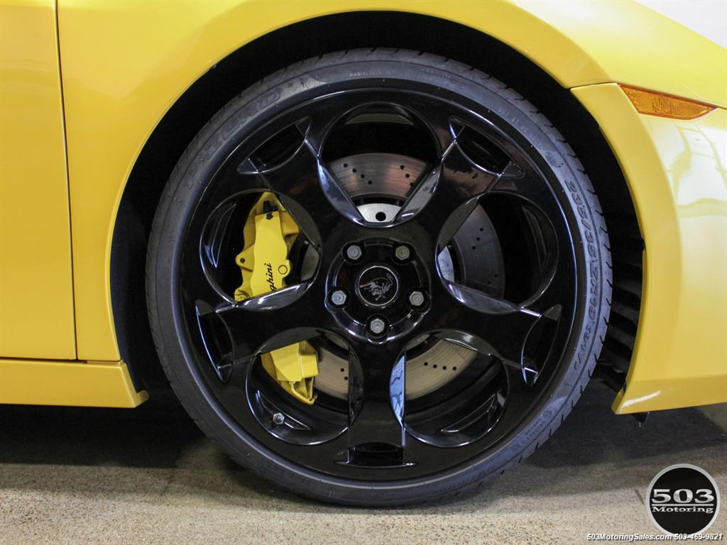 2004 Lamborghini Gallardo Yellow/Black 6-Speed Manual w/ 21k Miles! - Photo 25 - Beaverton, OR 97005