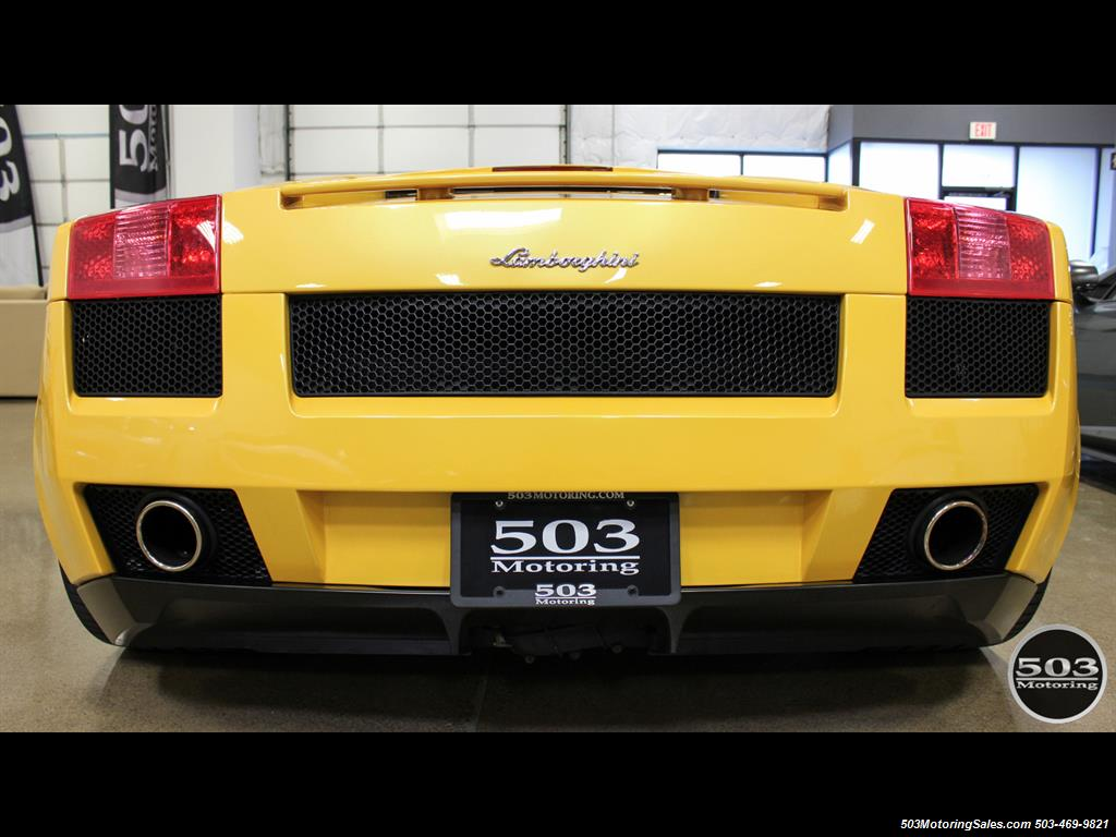 2004 Lamborghini Gallardo Yellow/Black 6-Speed Manual w/ 21k Miles! - Photo 4 - Beaverton, OR 97005