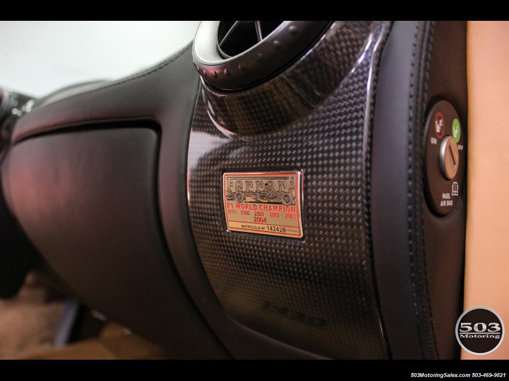 2005 Ferrari F430 Stunning Black/Tan Combo w/ New F1 Pump! - Photo 44 - Beaverton, OR 97005
