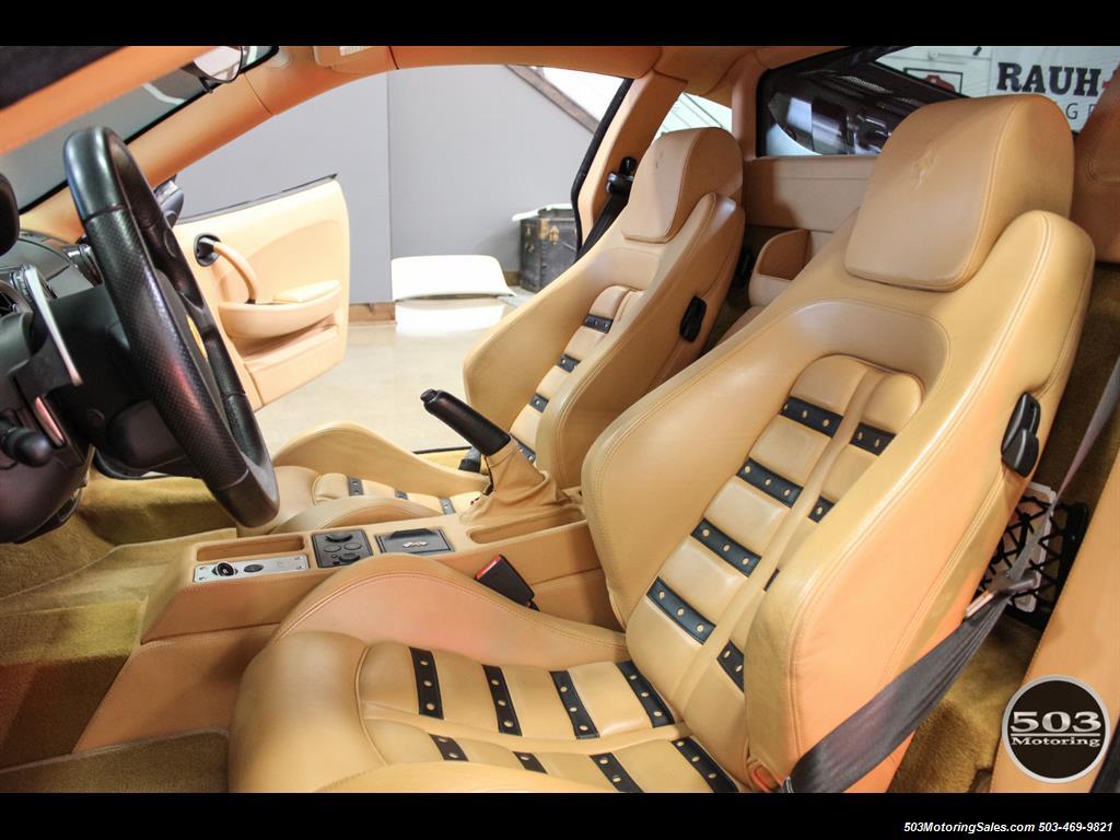 2005 Ferrari F430 Stunning Black/Tan Combo w/ New F1 Pump! - Photo 35 - Beaverton, OR 97005
