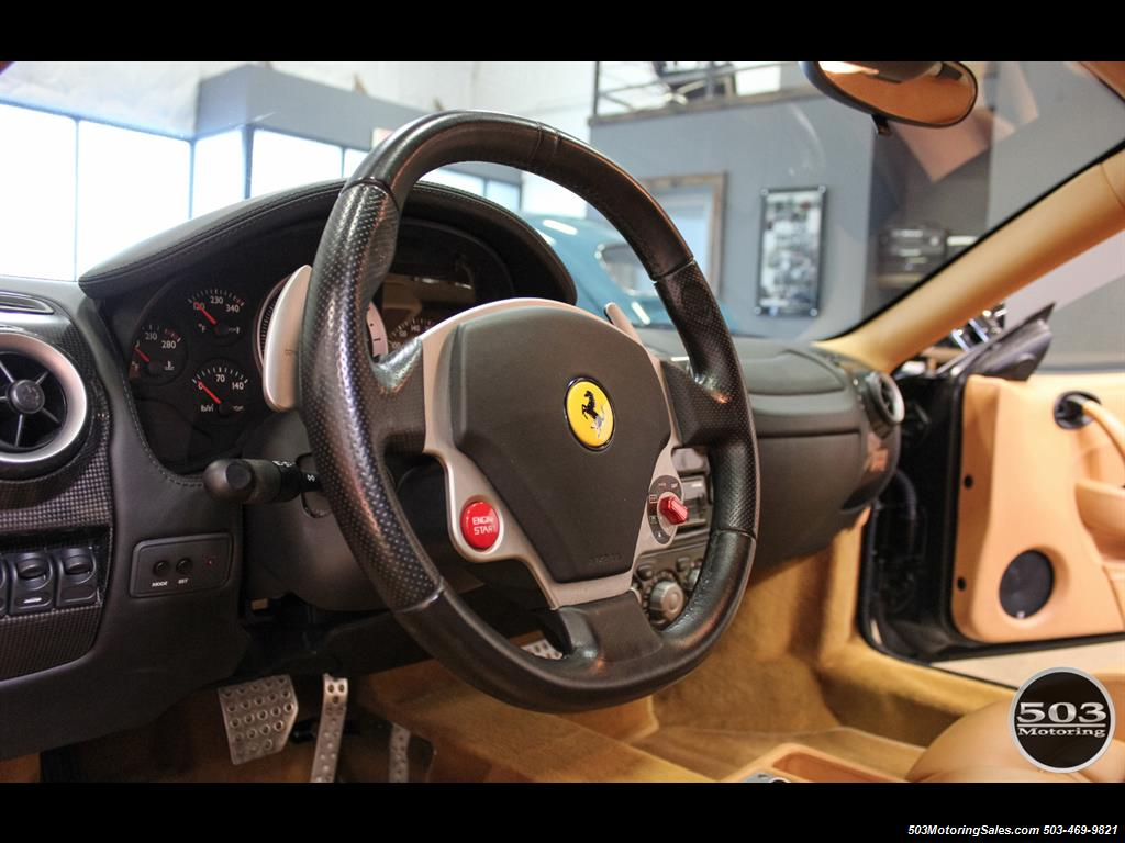 2005 Ferrari F430 Stunning Black/Tan Combo w/ New F1 Pump! - Photo 32 - Beaverton, OR 97005