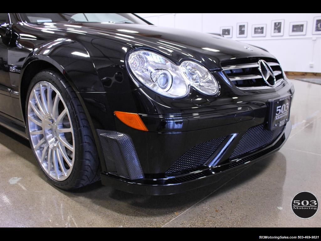 2008 mercedes benz clk63 amg black series only 2 500 miles. Black Bedroom Furniture Sets. Home Design Ideas