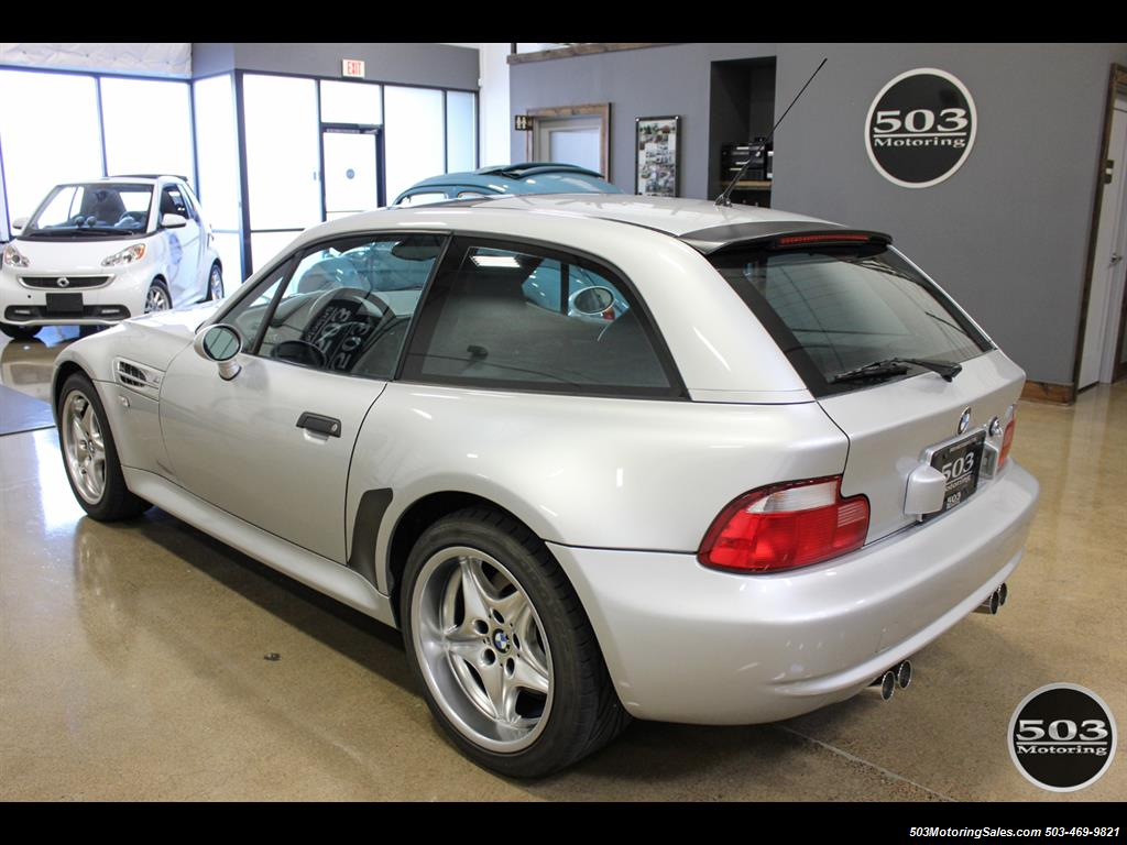 2001 BMW M Coupe; S54 in Silver w/ Only 23k Miles! - Photo 3 - Beaverton, OR 97005