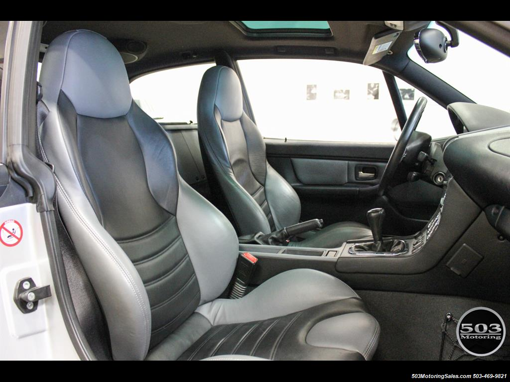 2001 BMW M Coupe; S54 in Silver w/ Only 23k Miles! - Photo 37 - Beaverton, OR 97005