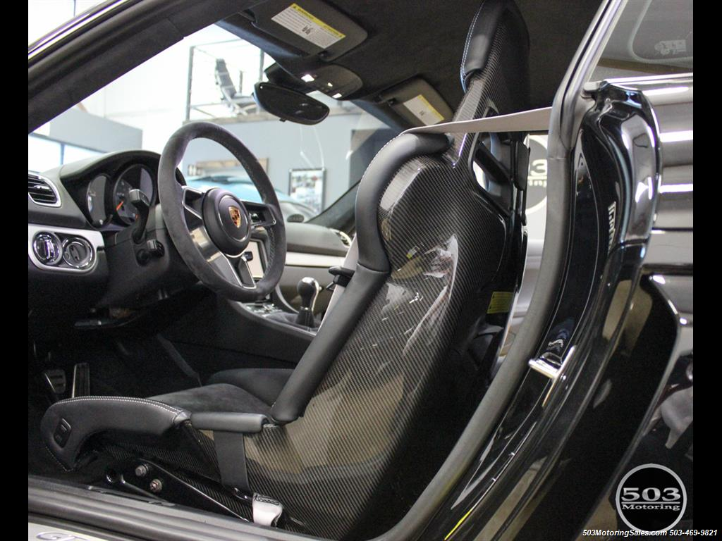 2016 Porsche Cayman GT4; Black w/ Full Buckets & Only 850 Miles! - Photo 44 - Beaverton, OR 97005