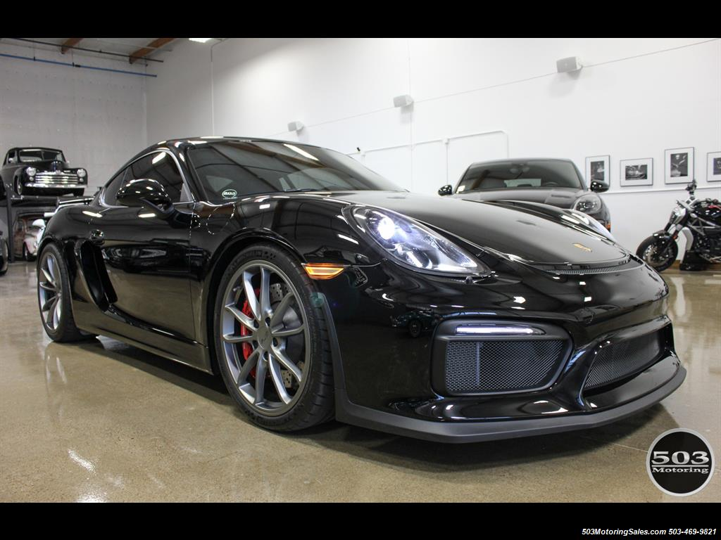 2016 Porsche Cayman GT4; Black w/ Full Buckets & Only 850 Miles! - Photo 8 - Beaverton, OR 97005