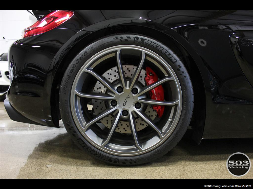 2016 Porsche Cayman GT4; Black w/ Full Buckets & Only 850 Miles! - Photo 33 - Beaverton, OR 97005
