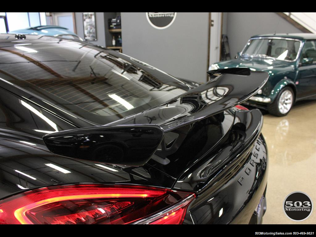 2016 Porsche Cayman GT4; Black w/ Full Buckets & Only 895 Miles! - Photo 20 - Beaverton, OR 97005