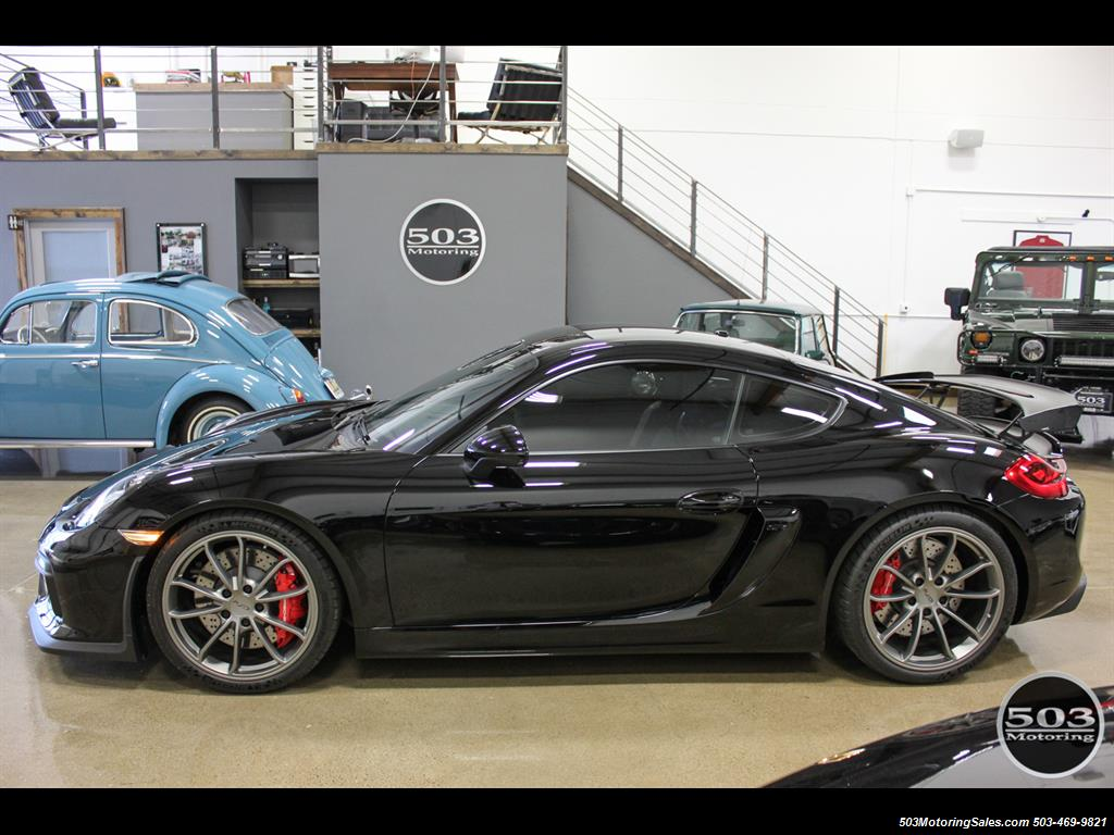 2016 Porsche Cayman GT4; Black w/ Full Buckets & Only 850 Miles! - Photo 2 - Beaverton, OR 97005
