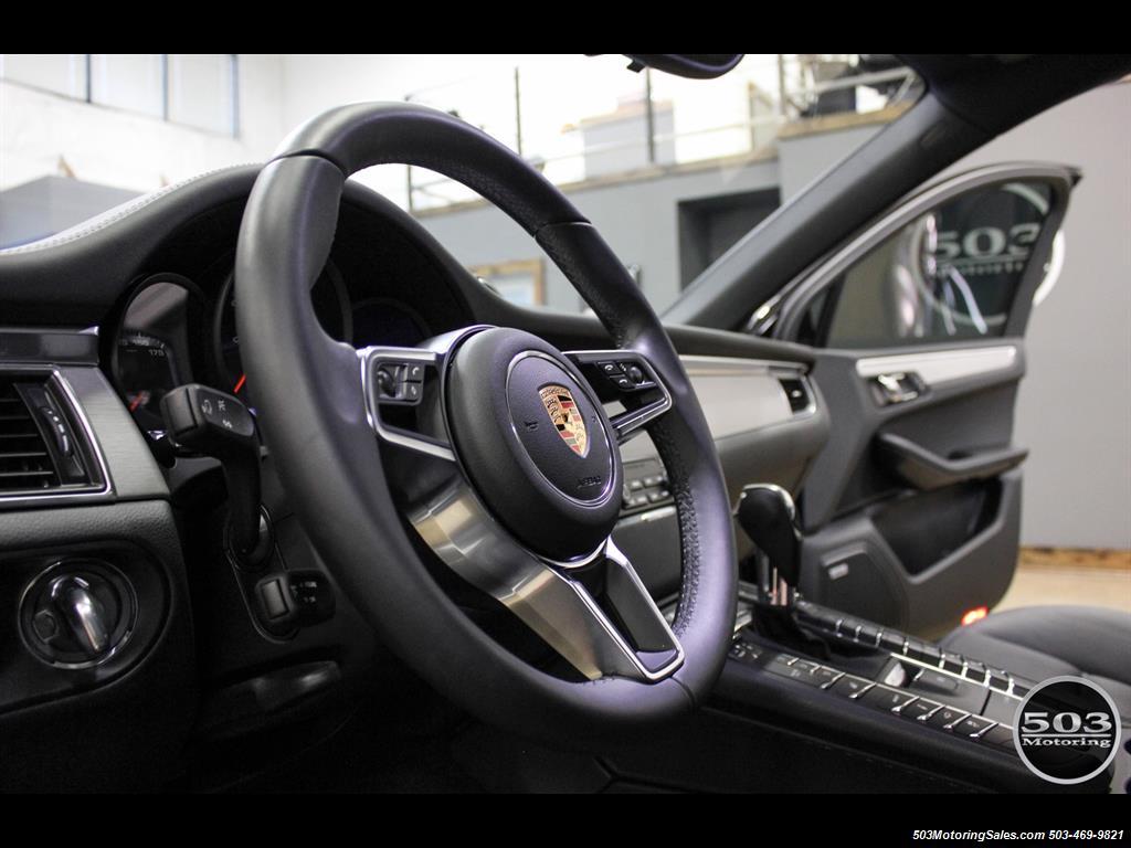 2017 Porsche Macan GTS; Black/Black w/ 2.5k Miles! - Photo 22 - Beaverton, OR 97005