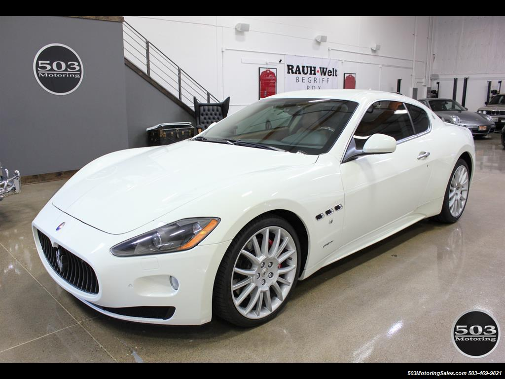 2010 Maserati GranTurismo S Automatic; One Owner w/ Only 8k Miles! - Photo 1 - Beaverton, OR 97005