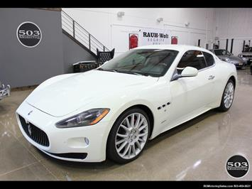 2010 Maserati GranTurismo S Automatic; One Owner w/ Only 8k Miles! Coupe