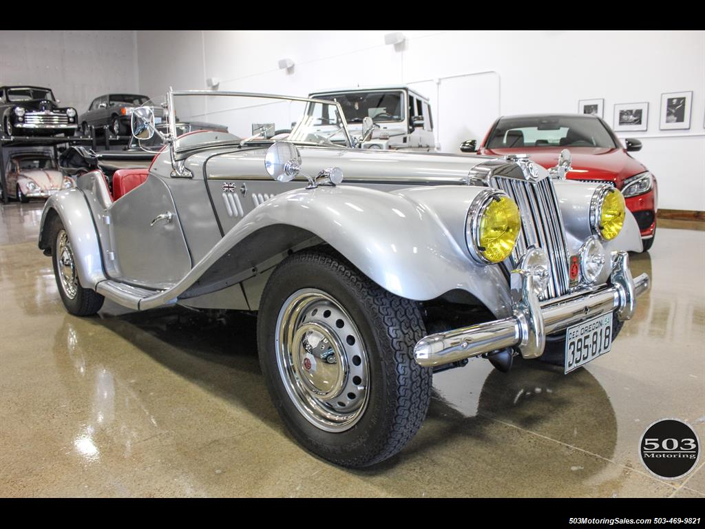 1954 MG TF; Excellent Condition, Same Owner Since 1969 - Photo 7 - Beaverton, OR 97005