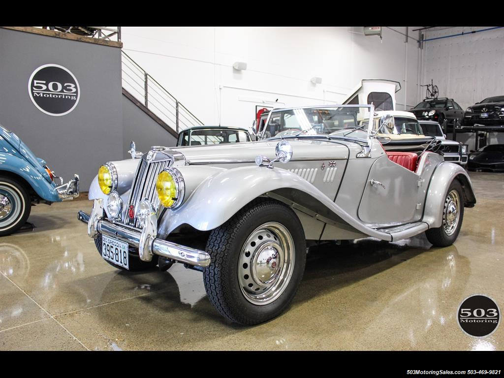 1954 MG TF; Excellent Condition, Same Owner Since 1969 - Photo 1 - Beaverton, OR 97005