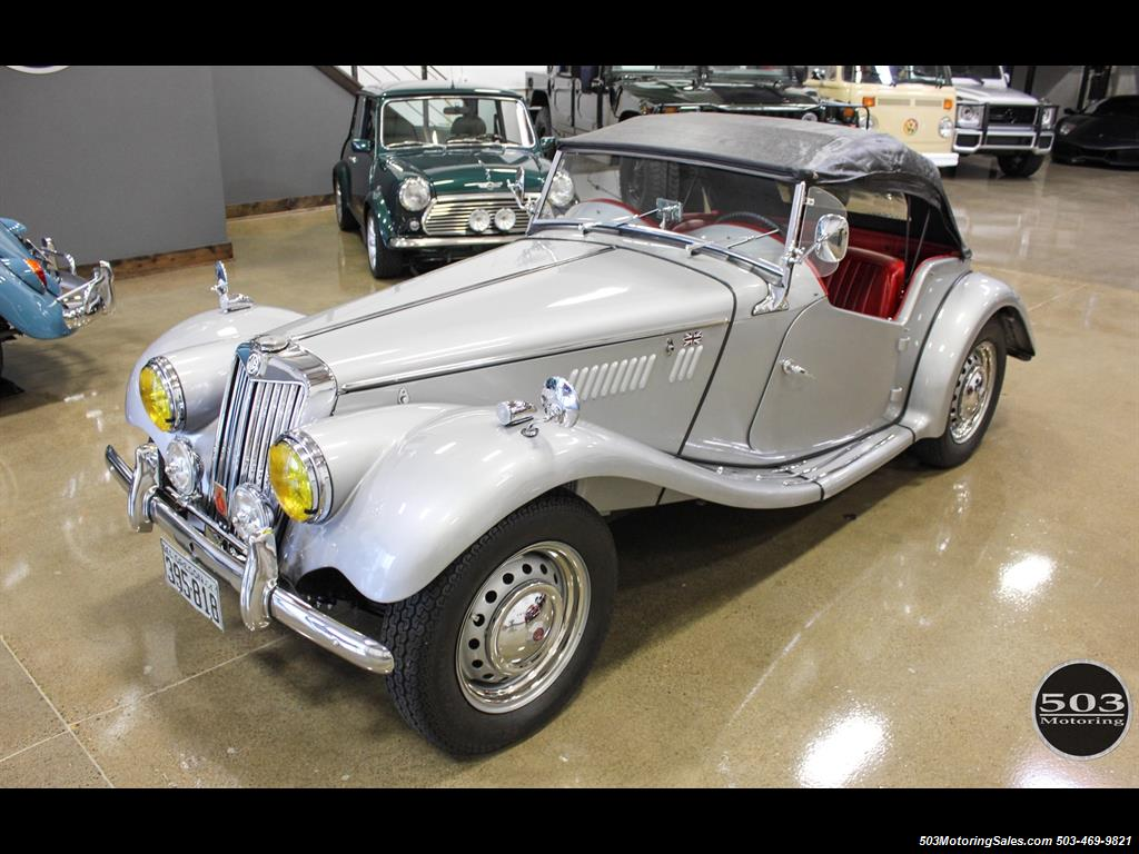 1954 MG TF; Excellent Condition, Same Owner Since 1969 - Photo 17 - Beaverton, OR 97005