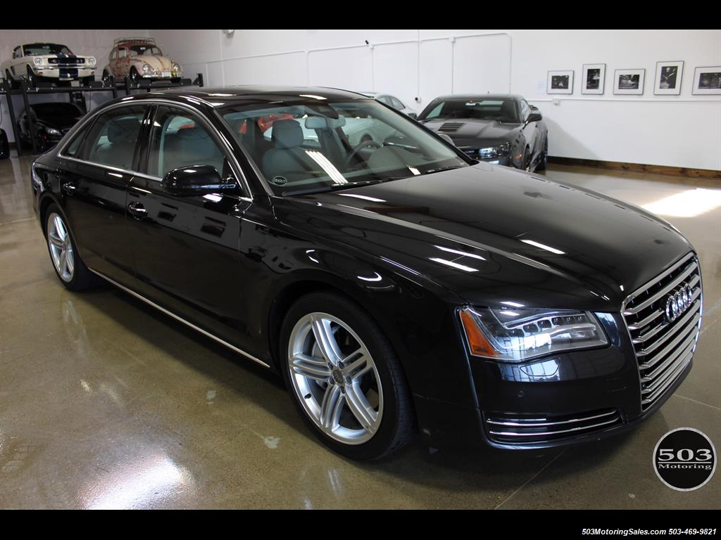 2014 audi a8 3 0t quattro lwb. Black Bedroom Furniture Sets. Home Design Ideas