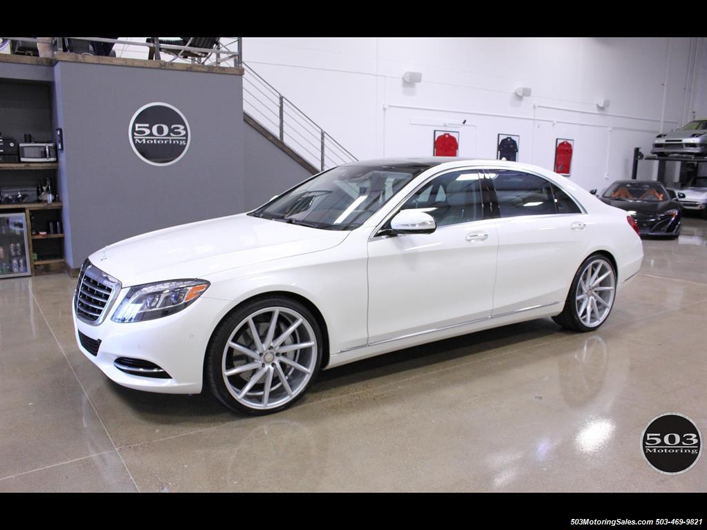 2016 Mercedes Benz S550 4matic Perfect Condition In