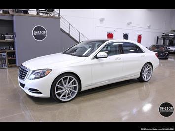 2016 Mercedes-Benz S550 4MATIC, Perfect Condition in Diamond White! Sedan